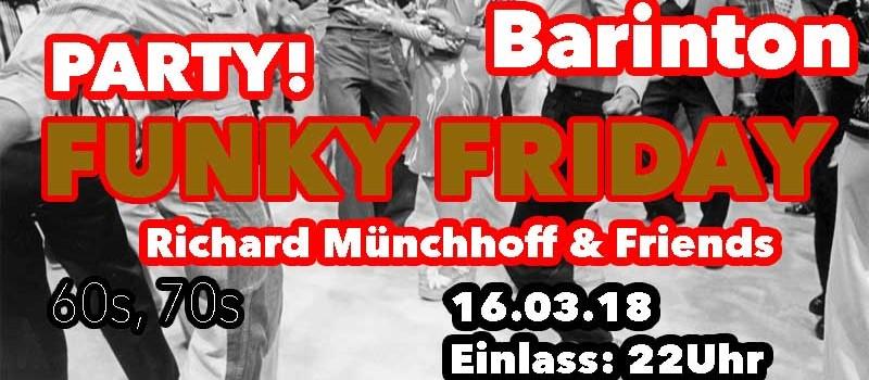 "Funky Friday mit ""Richard Münchhoff & Friends"""