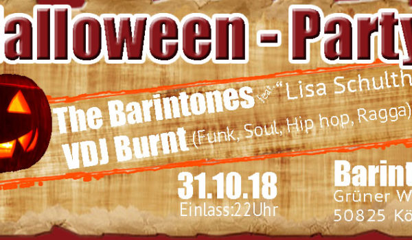 Halloween Party @ Barinton