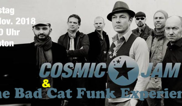 Cosmic Jam and The Bad Cat experience