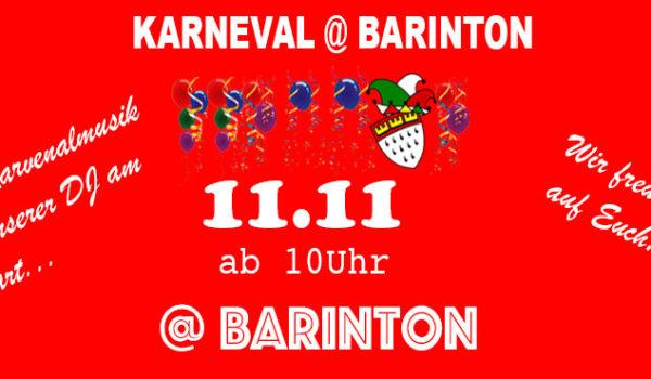 Karneval @ Barinton