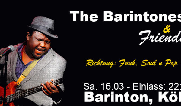 The Barintones & Friends live