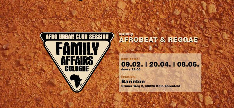 Family Affairs Cologne @ Barinton