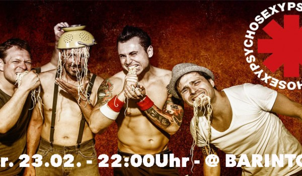 PSYCHO SEXY - Red Hot Chili Peppers Tribute Band