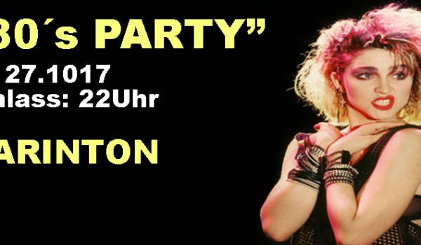 80s Party @ Barinton