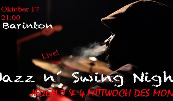 Jazz n Swing Nights @ Barinton