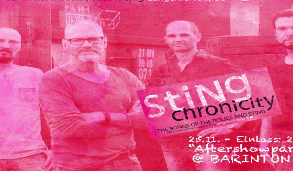 Police cover Band 'Stingchronicity' @ Barinton