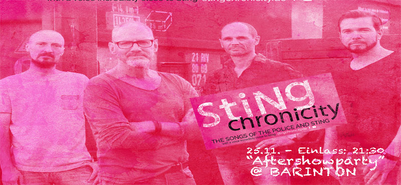 Police cover Band 'Stingchronicity' @ Barinton
