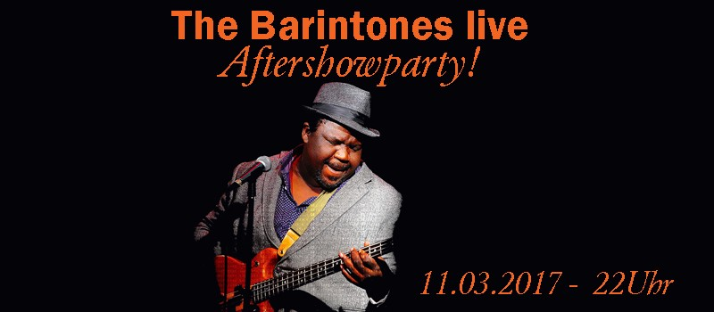 The Barintones n Aftershowparty!!