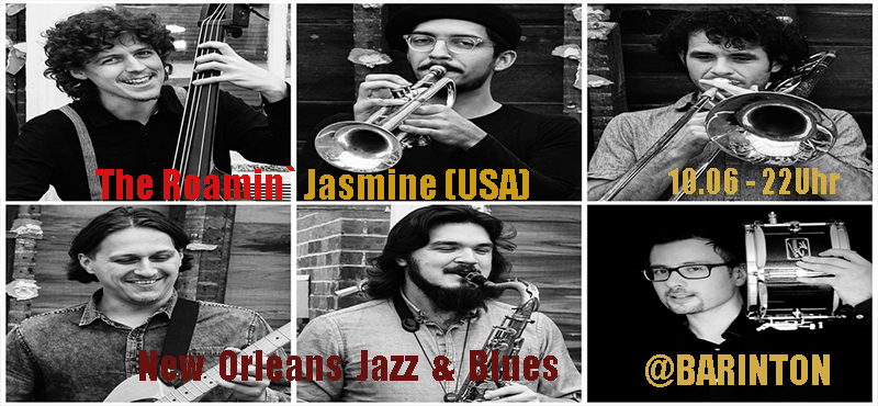 The Roamin´Jasmin (USA) live @ Barinton