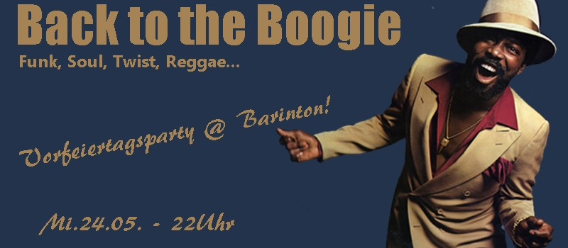Back to the Boogie @ Barinton