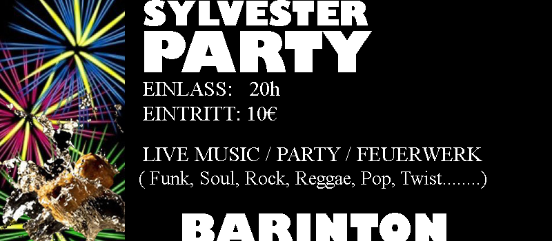 Sylvester Party @ Barinton