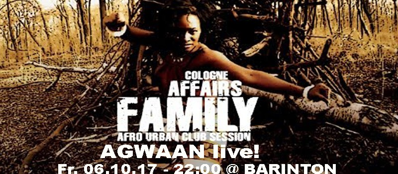 FAMILY AFFAIRS COLOGNE feat, Agwaan, Tom Strauch & Jery Tofier