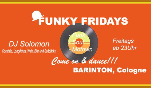 Party: Funky fridays @ Barinton, Funk, Soul, Club