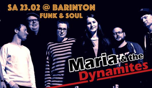 Maria and the Dynamites Barinton