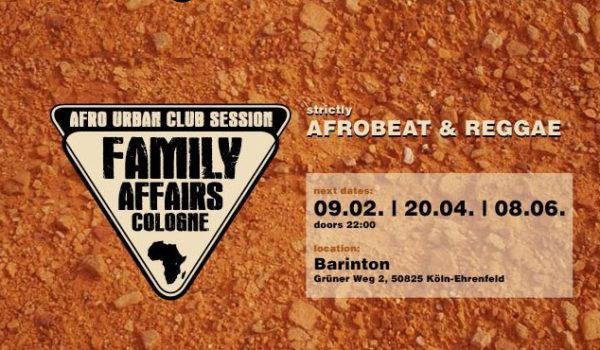 Family Affairs Cologne @ Barinton